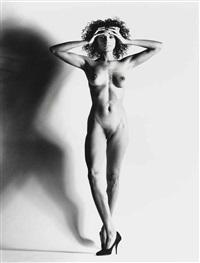 big nude xv, nice by helmut newton