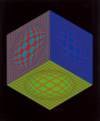 tri-dagg by victor vasarely