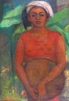 wanita dusun by agus djaya
