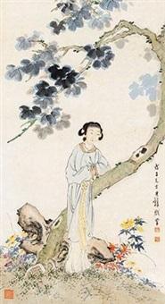 仕女 by huang junbi