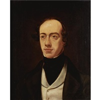 portrait of william pink by william holman hunt