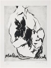 melba, malcolm by malcolm morley
