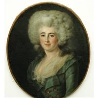 portrait of a lady by françois hubert drouais