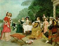 the recital by achille jacquet