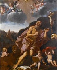 saint jerome by lucio massari