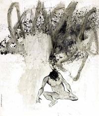 menunggu penuh kesabaran (waiting in patience) by putu sutawijaya