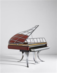 rare ph grand piano by poul henningsen