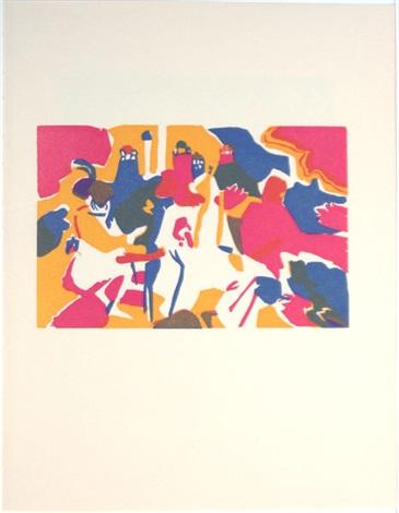 orientalischesblatt für 10 origin 2 works from hommage à wassily kandinsky by wassily kandinsky
