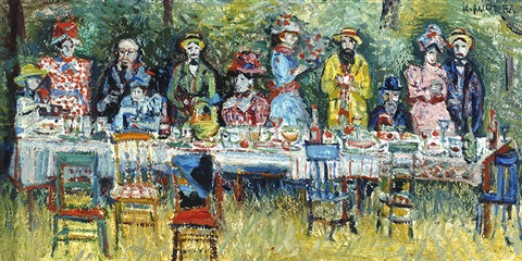 banquet marcel proust by kees andrea