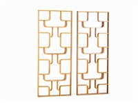 room dividers (pair) by drevopodnik holesav