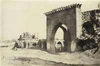 gateway for the nukar khana of nawab mustafa khan's palace by thomas biggs