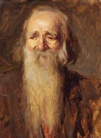 porträt eines bärtigen mannes by wilhelm dachauer