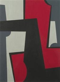 agressif, zwart-grijs-rood by amédée cortier