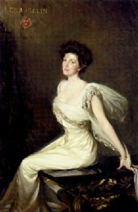 portrait of nora iselin by lydia field emmet