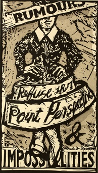rumours and impossibilities by william kentridge