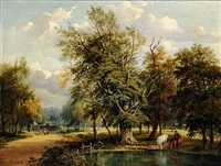 on putney heath, surrey by jane nasmyth