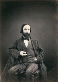 portrait by auguste vacquerie