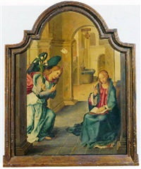 the annunciation by pablo de aregio