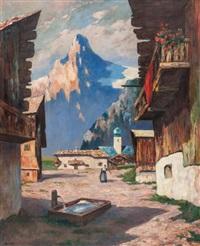in the tyrol by albert lorey groll