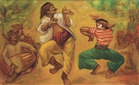 dancers by agus djaya