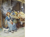 the vegetable seller by p(ercy) harland fisher