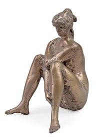 girl sitting by matti haupt