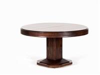 art deco dining tablec by louis majorelle