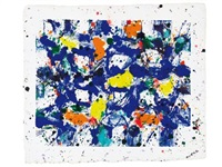 ohne titel (werknummer sfm 78-007) by sam francis