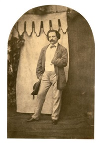 charles hugo by auguste vacquerie