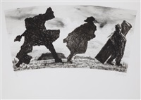 baggage i by william kentridge