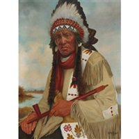 chief muskeg, file hills reserve by henry metzger
