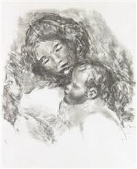 maternité, grande planche by pierre-auguste renoir