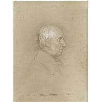 a portrait drawing of william wordsworth (1770-1850) by benjamin robert haydon