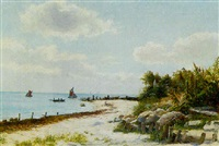 on the normandy coast by fritz hultmann
