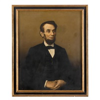 portrait of abraham lincoln by american school