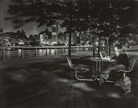 leslie & ella on the hudson, 9:26-9:47 pm, wednesday, may 31st by matthew pillsbury