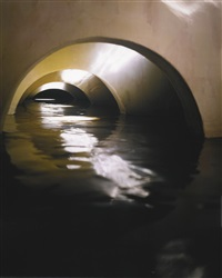 four flooded arches from left by james casebere
