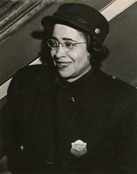 woman special officer by weegee