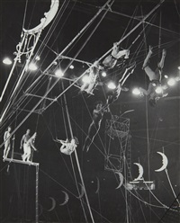 circus trapeze acts by harold eugene edgerton