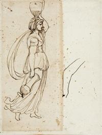 wasserträgerin (sketch) by andrea appiani