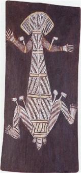 namarrkon (the lightning man) by jack madagarlgarl