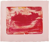 the red sea by helen frankenthaler