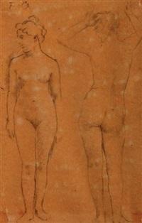 feuilles d'étude (11 studies) by henri fantin-latour