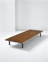 low bench, from cité cansado, cansado, mauritania by charlotte perriand