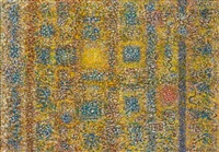 untitled from strata series by richard pousette-dart