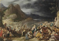 the crossing of the red sea by hans jordaens iii
