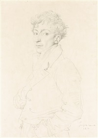 portrait of gaspard bonnet by jean-auguste-dominique ingres