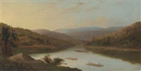 flatboat men by robert scott duncanson