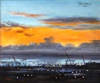 manila bay sunset by federico aguilar alcuaz