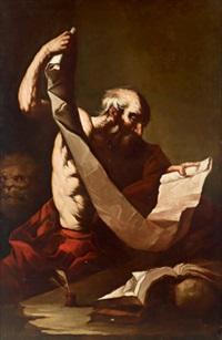 san gerolamo, der heilige hieronymus by agostino scilla
